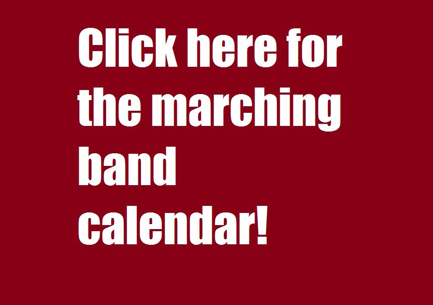 tentative calendar for the 2020 marching band season