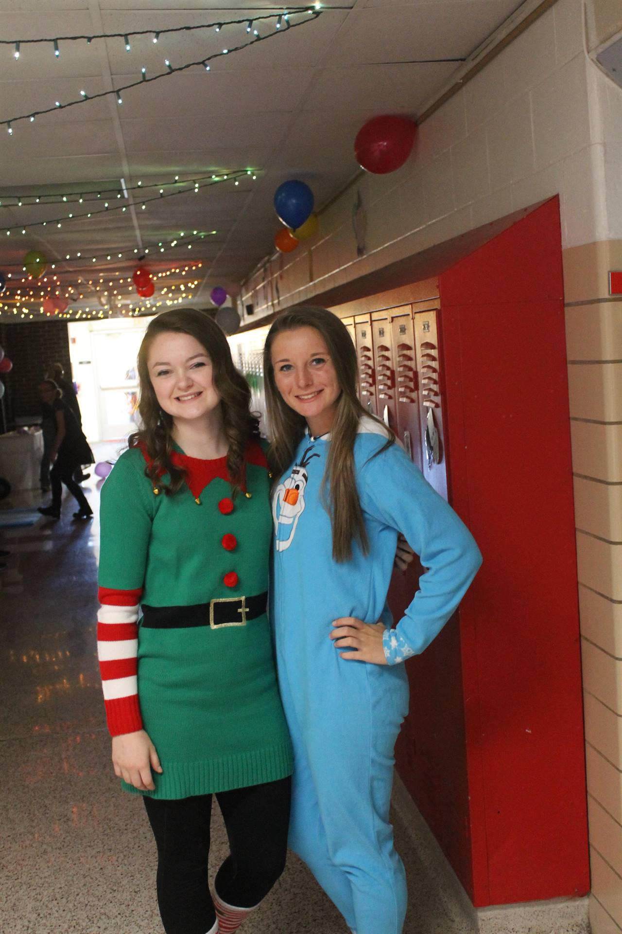 Christmas Dress - HS Spirit Week