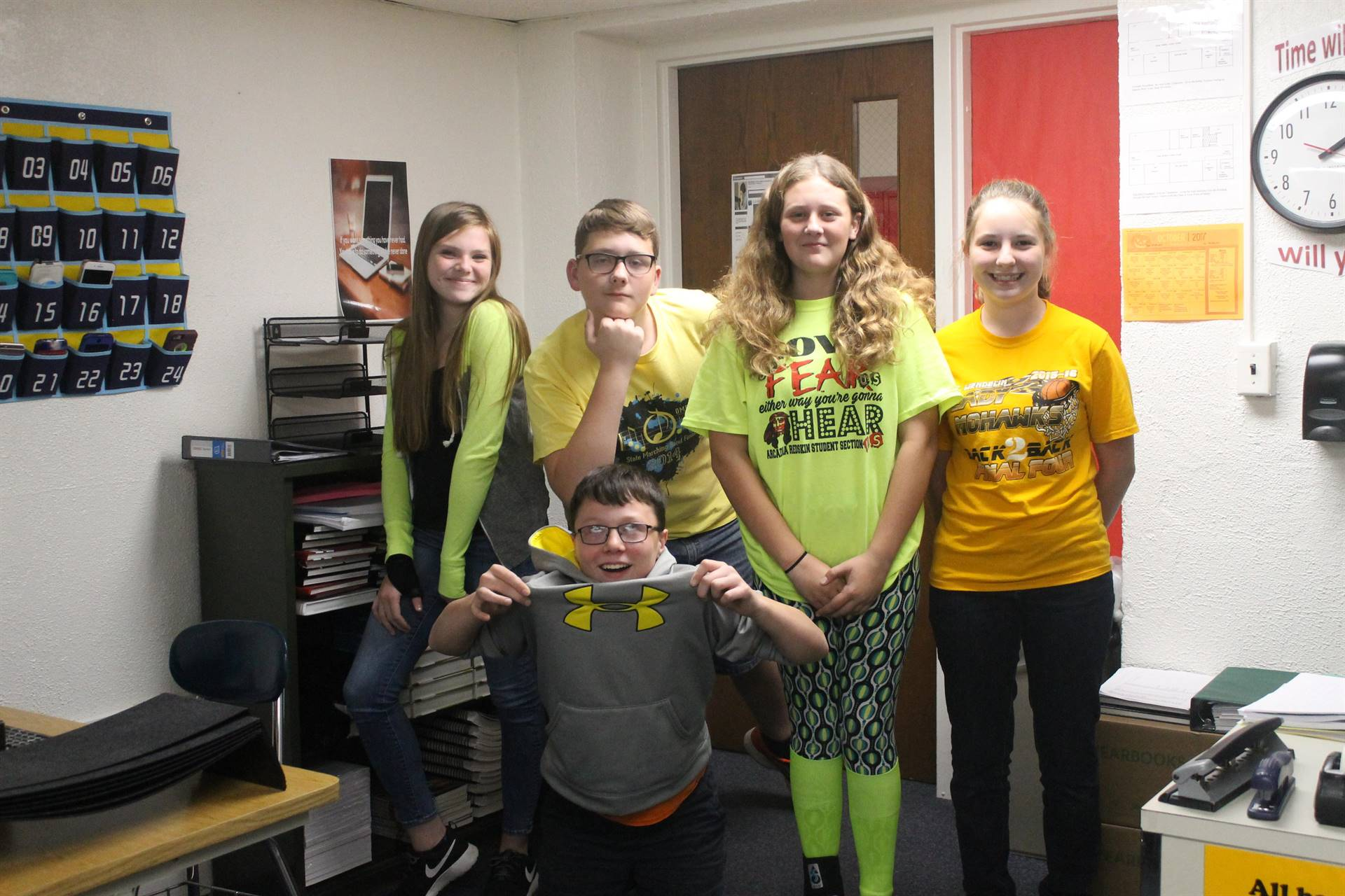 Class Colors Day - Spirit Week