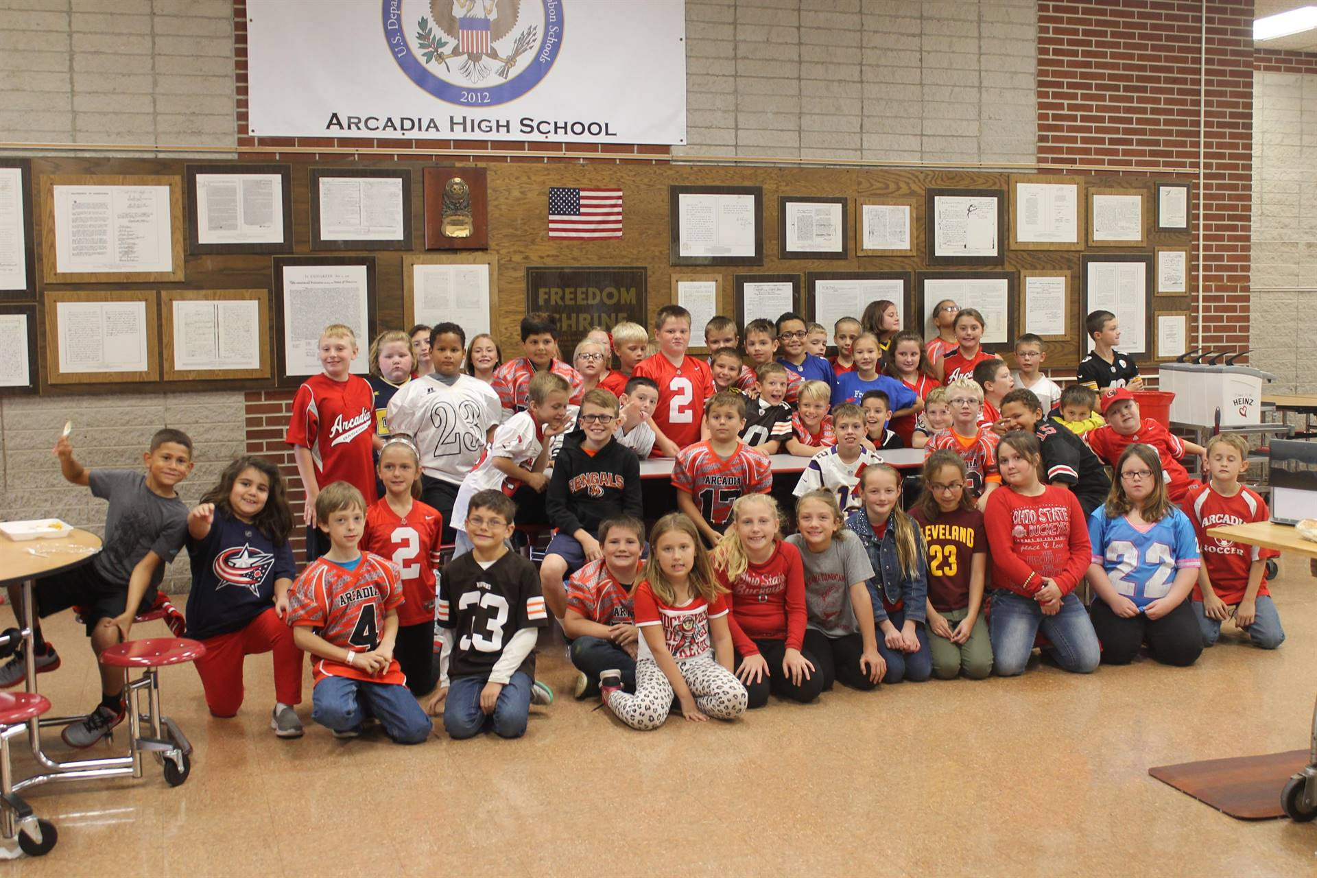 Elementary Jersey Day - Spirit Week