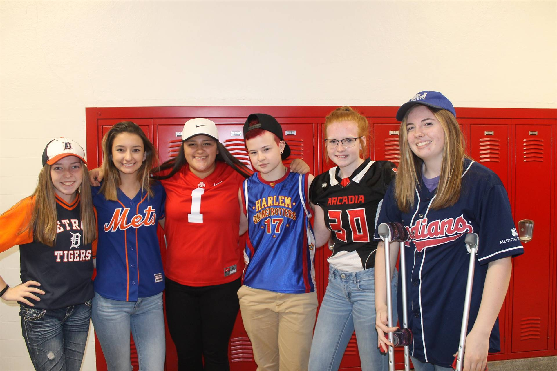 Hat or Jersey Day - Spirit Week