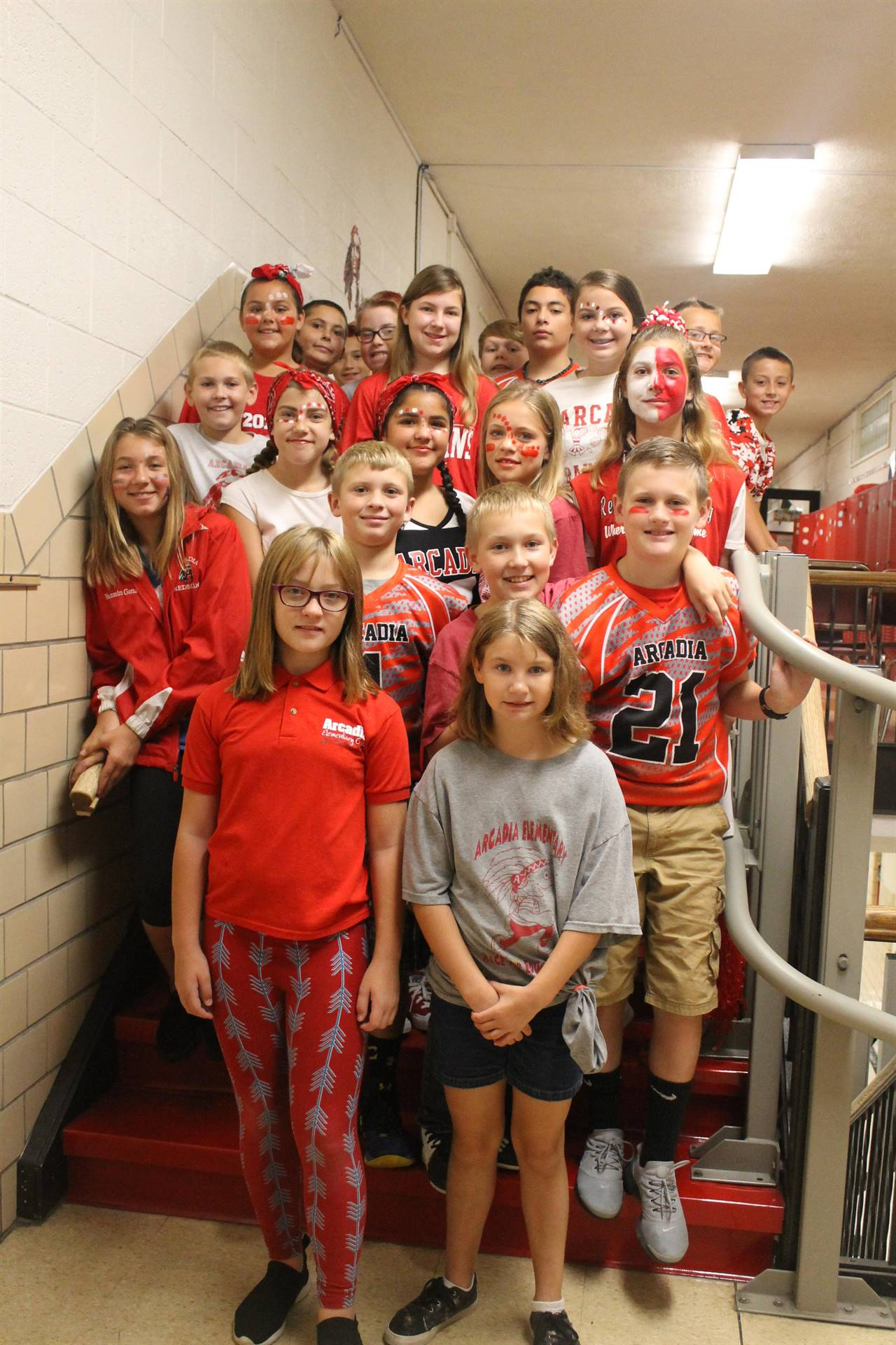 Red and White Day - Elementary Spirit Week