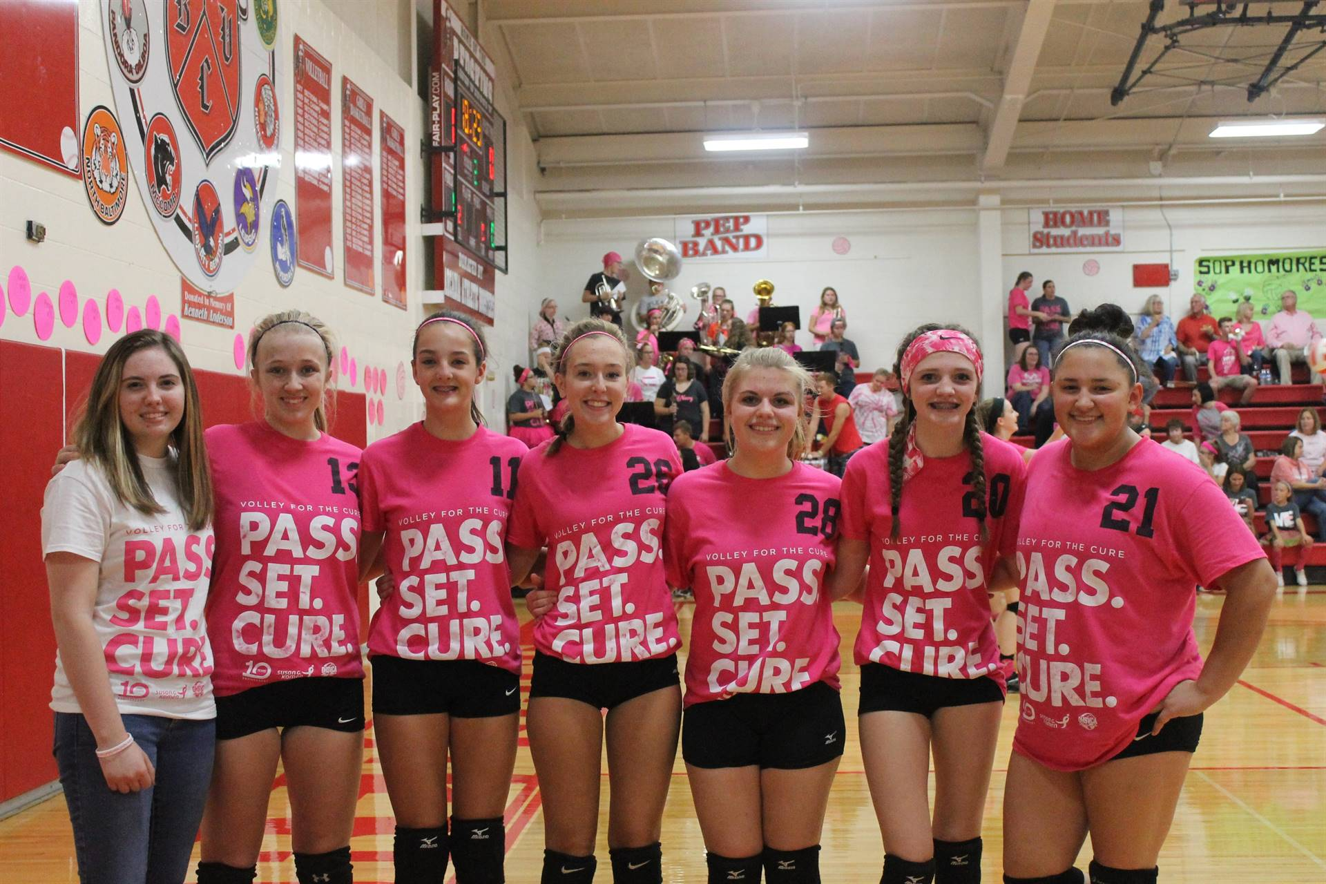 JV Team - Volley for the Cure