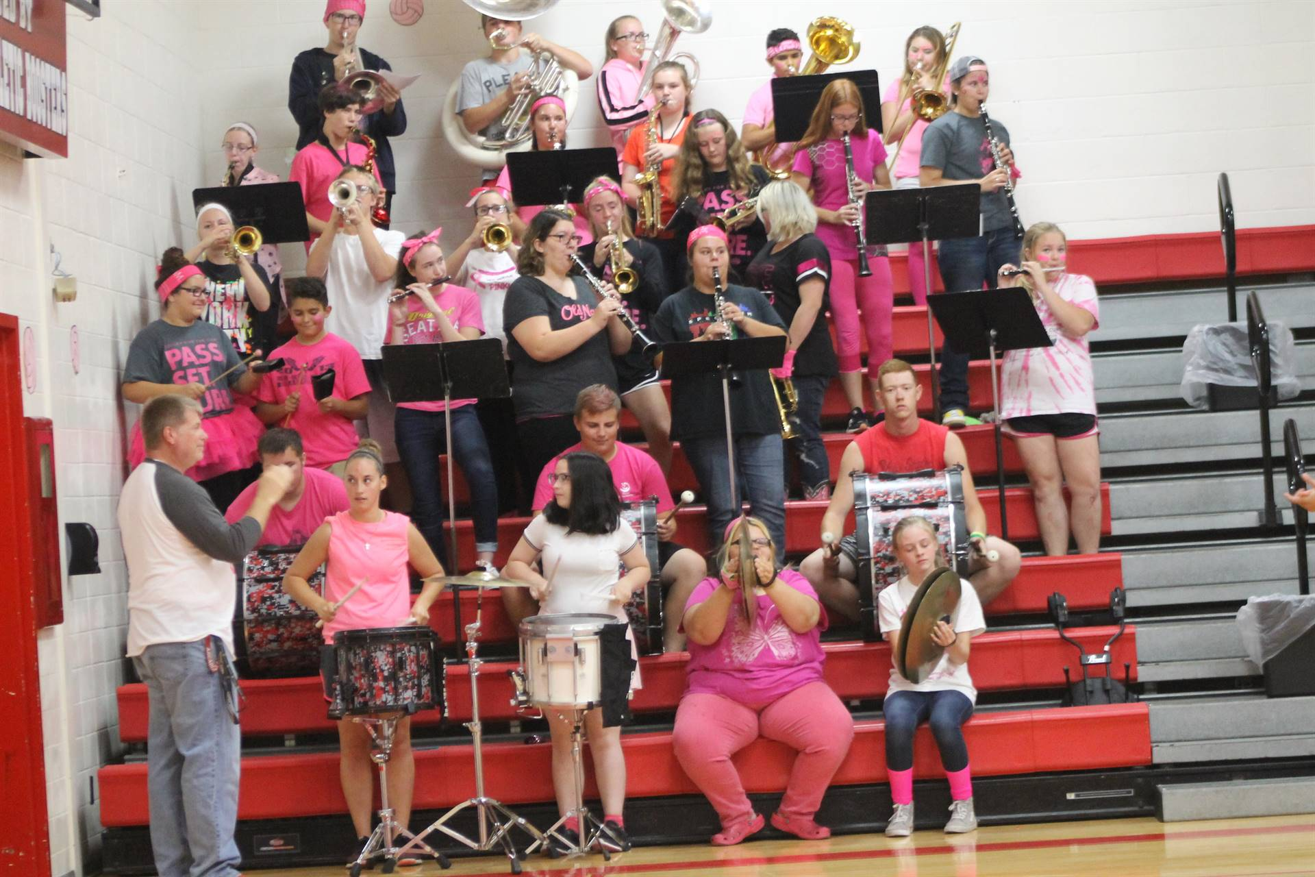 Pep Band - Volley for the Cure