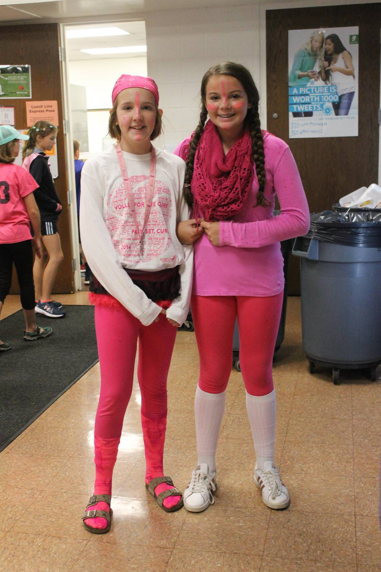 Pink Out - Elementary Spirit Week