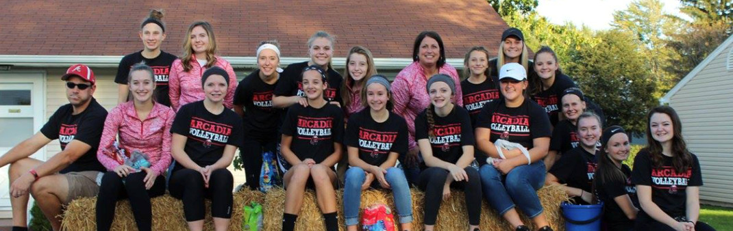 Volleyball Team - Homecoming Parade