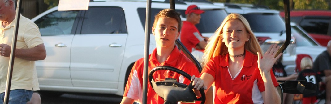Golf Team - Homecoming Parade