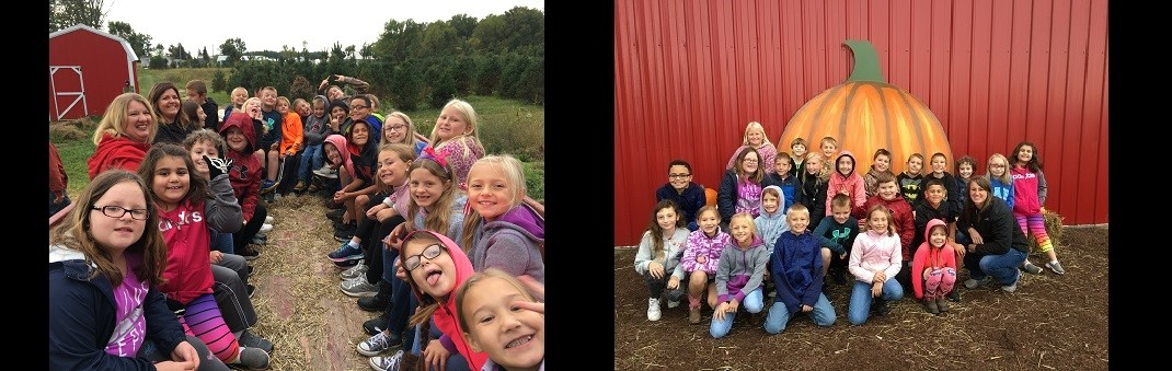3rd Graders At the Pumpkin Patch