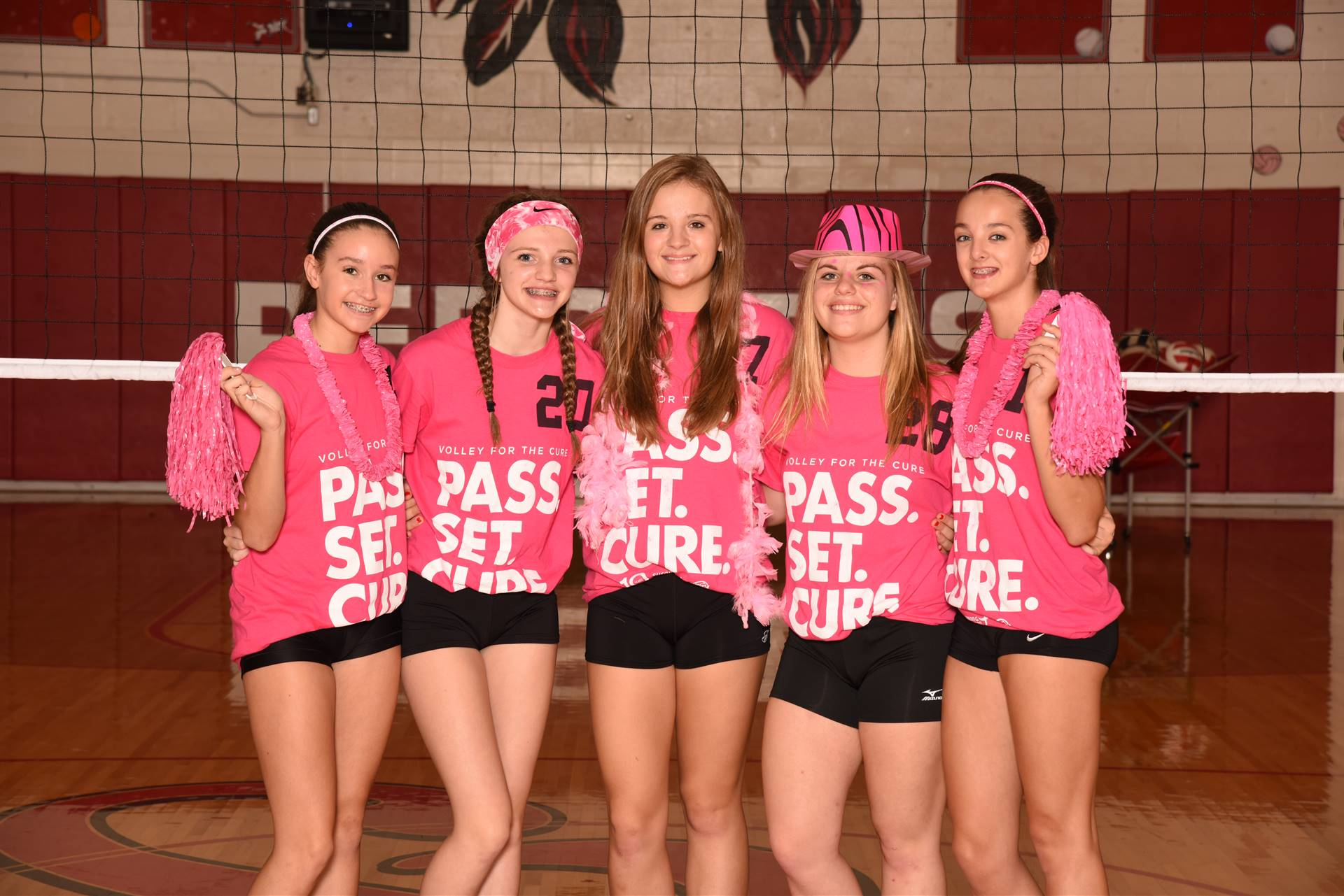 Arcadia High School Volley for the Cure