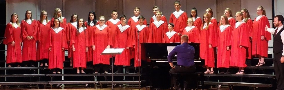 Arcadia High School Choir Performs at McComb Invitational