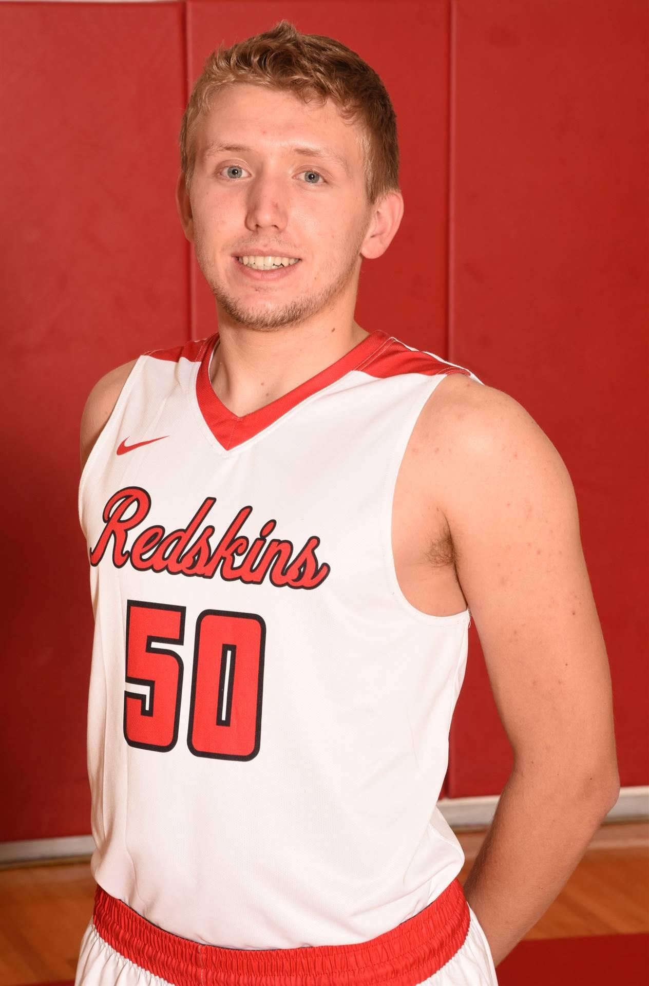 Senior Basketball Player Sam Stahl