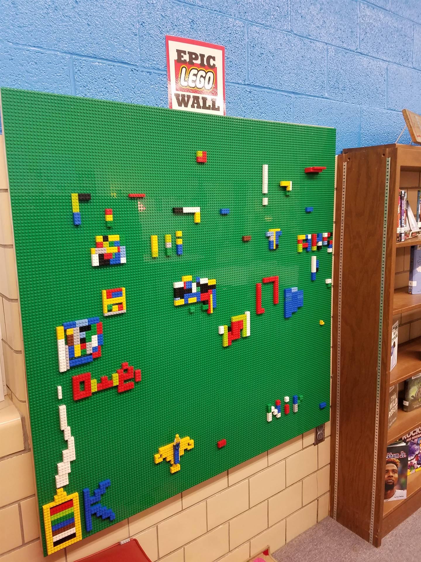 EPIC Lego Wall