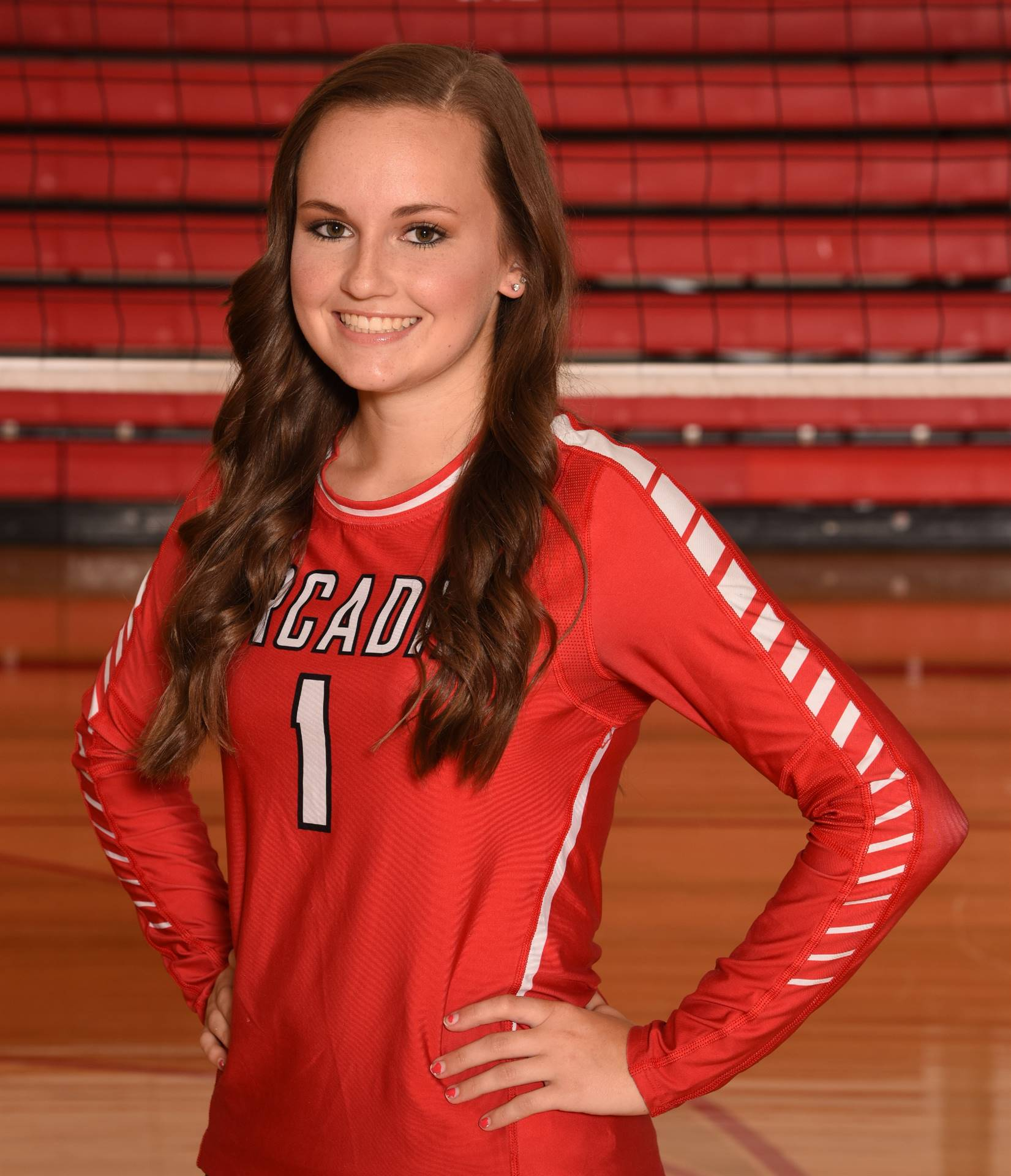 Senior Volleyball Picture - Karly Renz