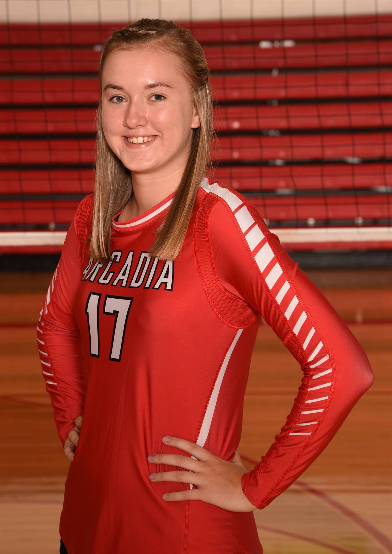 Senior Volleyball Picture - Emma Saltzman