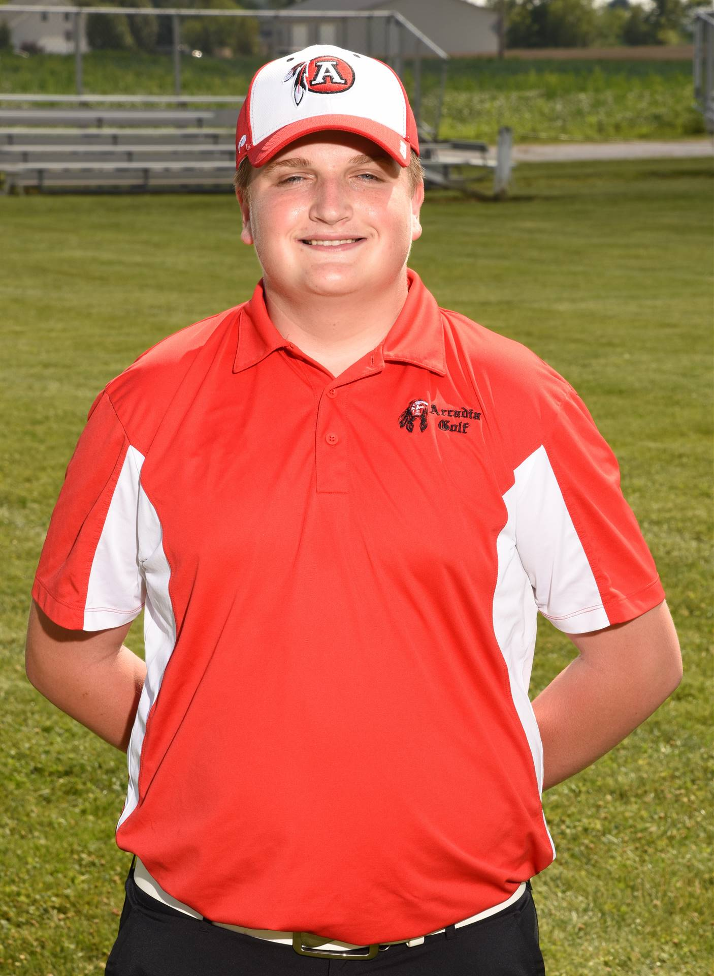 Senior Golf Picture - Drake Spridgeon