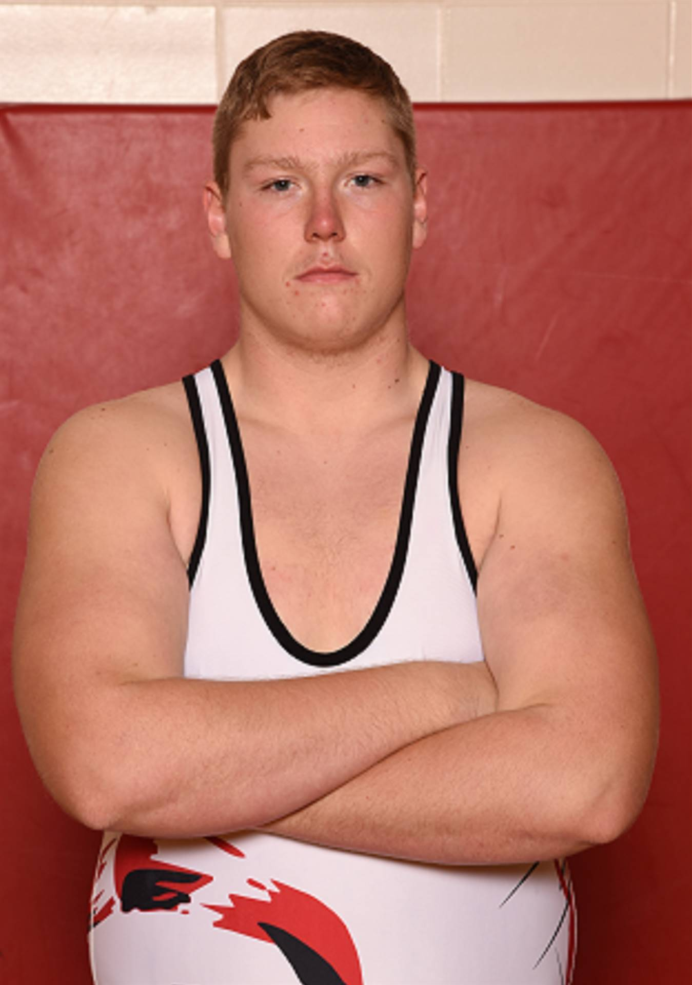 Senior Head Shot Photo - John Hill - Wrestling