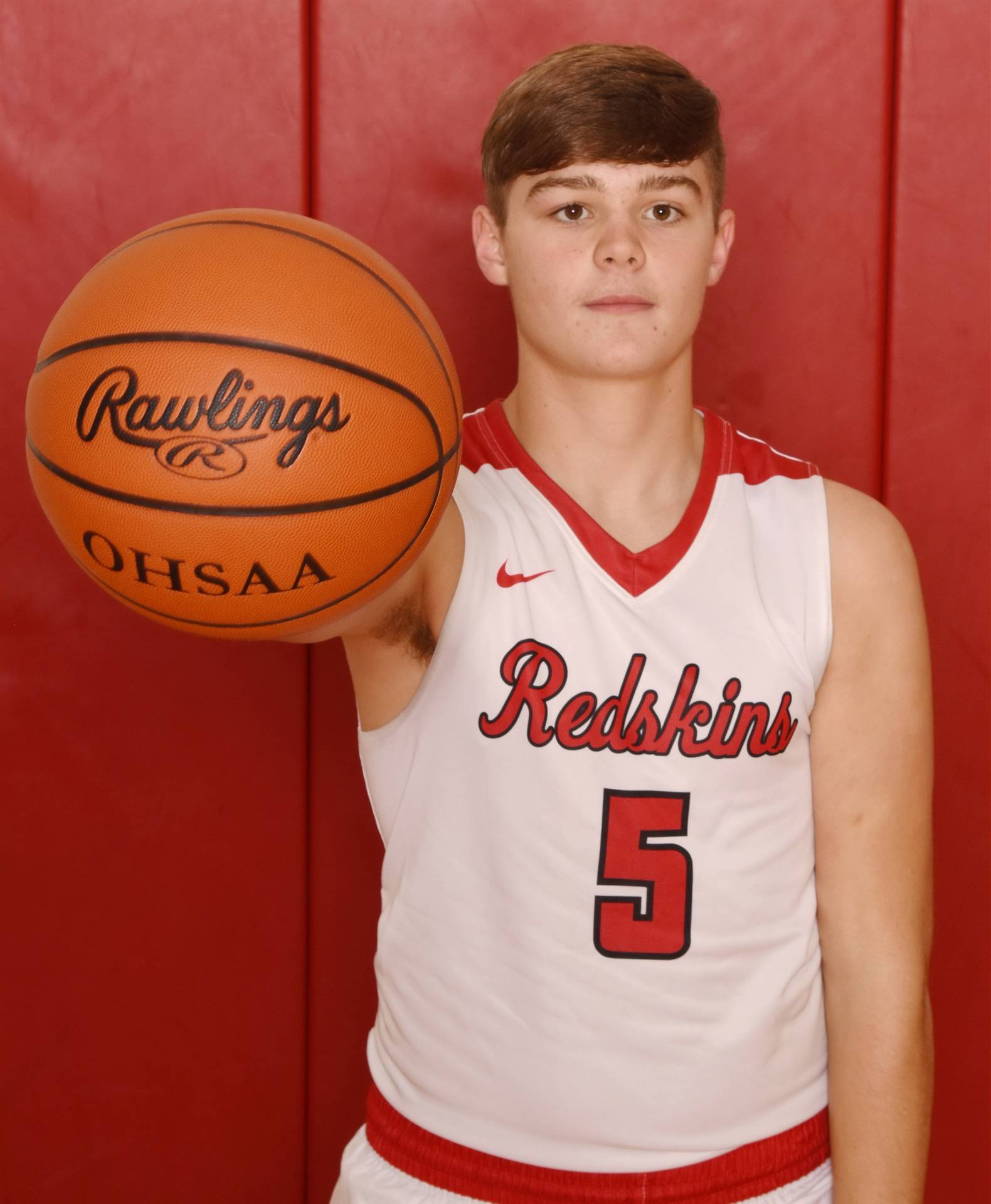 Senior Head Shot Photo - Cole Coppus - Basketball