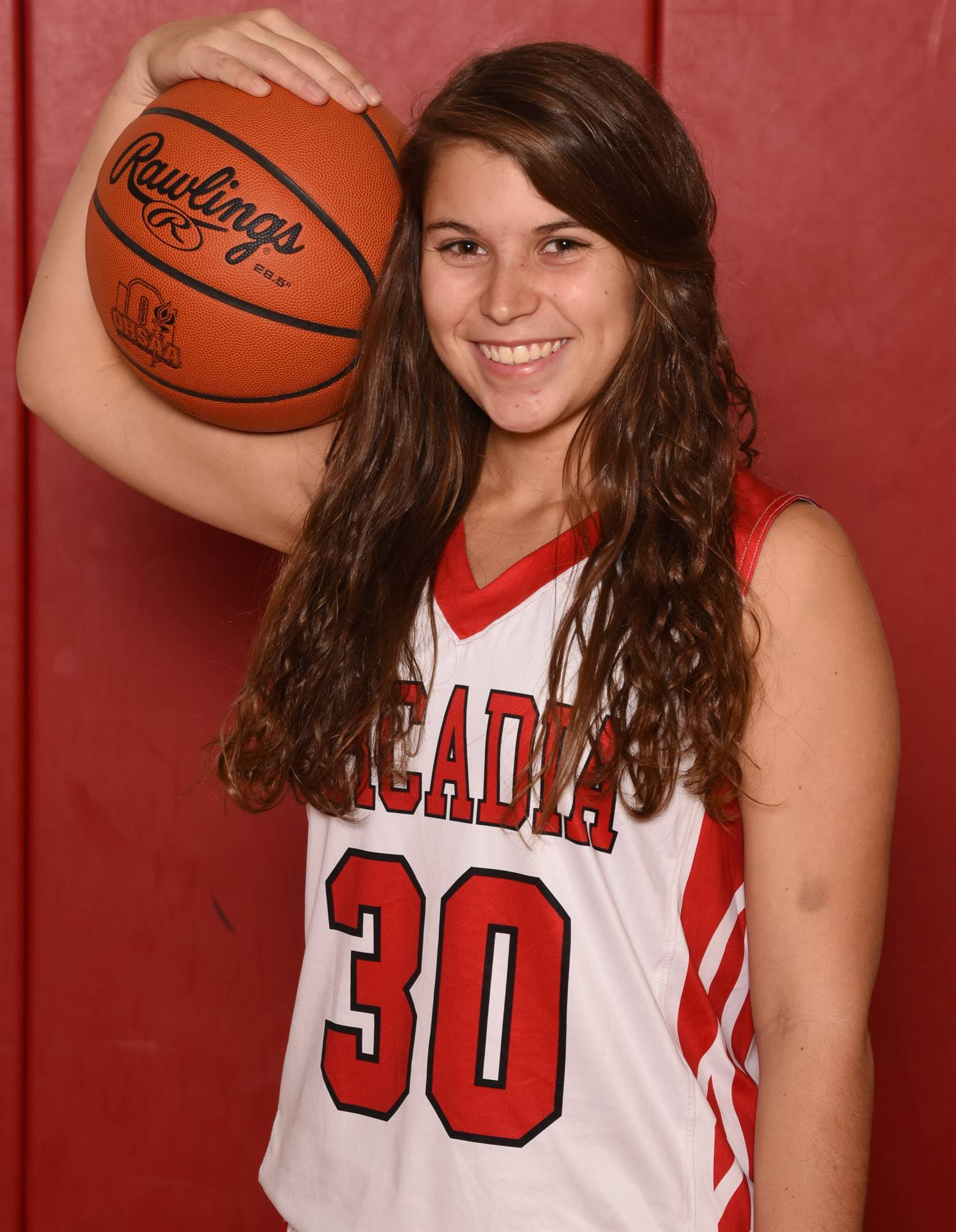 Senior Head Shot Photo Elizabeth Keefe - Basketball