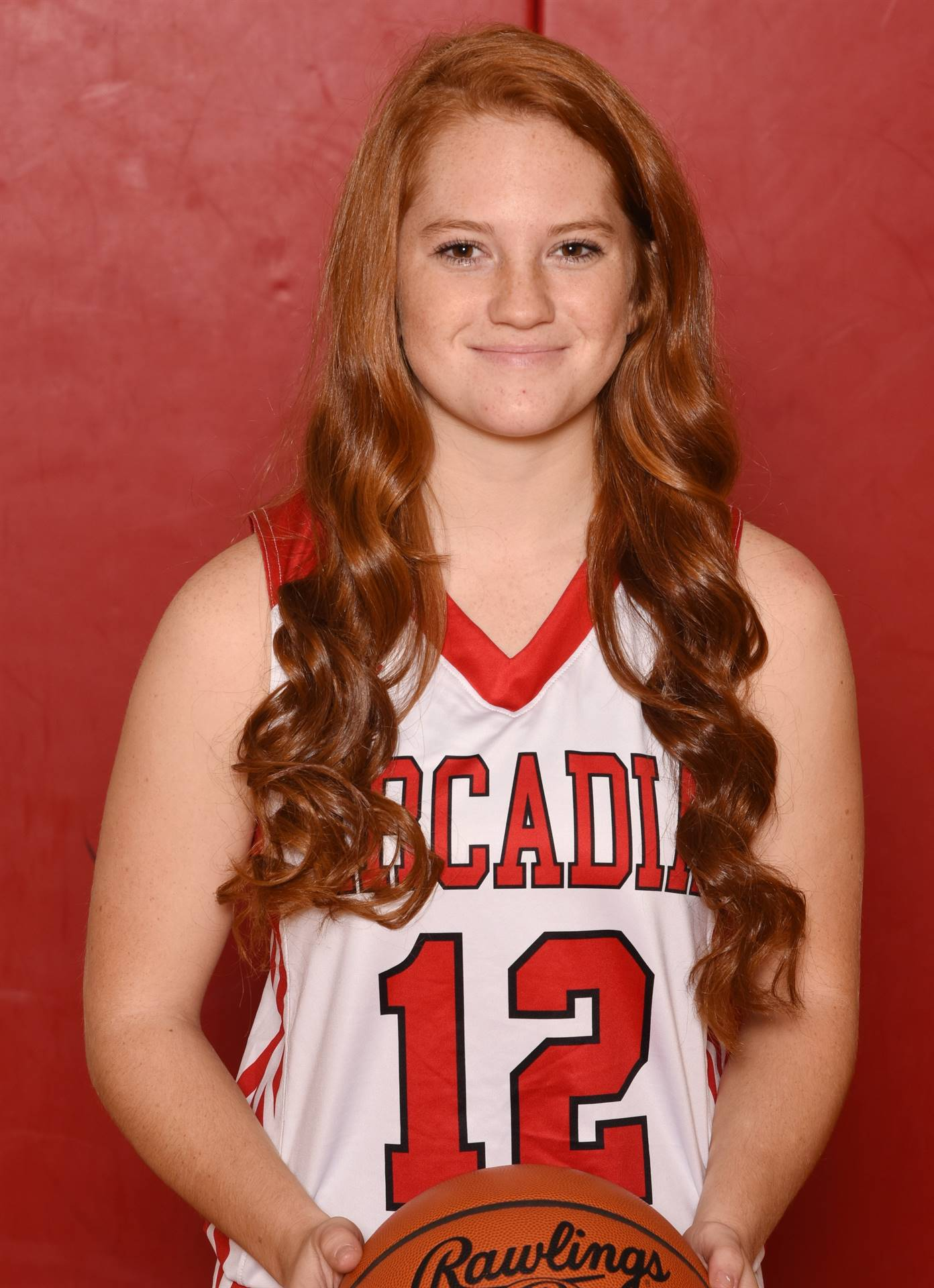 Senior Head Shot Photo - Ivy Noel - Basketball