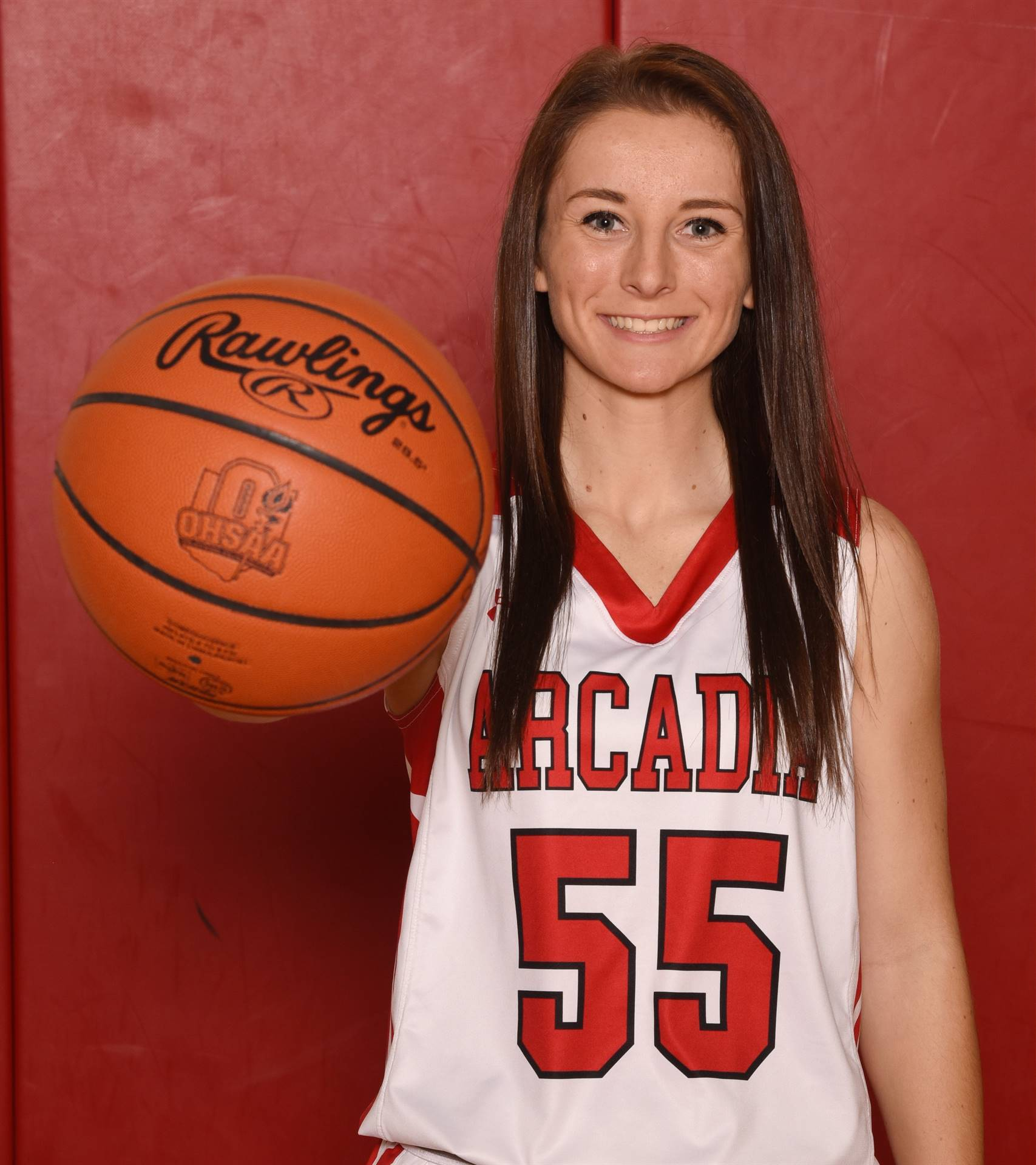 Senior Head Shot Photo - Samantha Watkins - Basketball