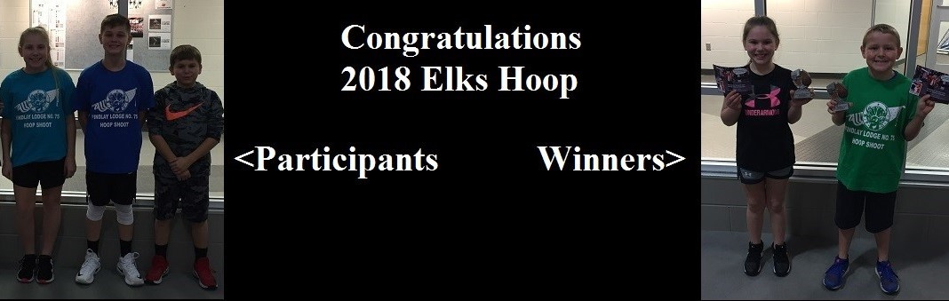 Photo of 2018 Elks Hoops Participants and Winners