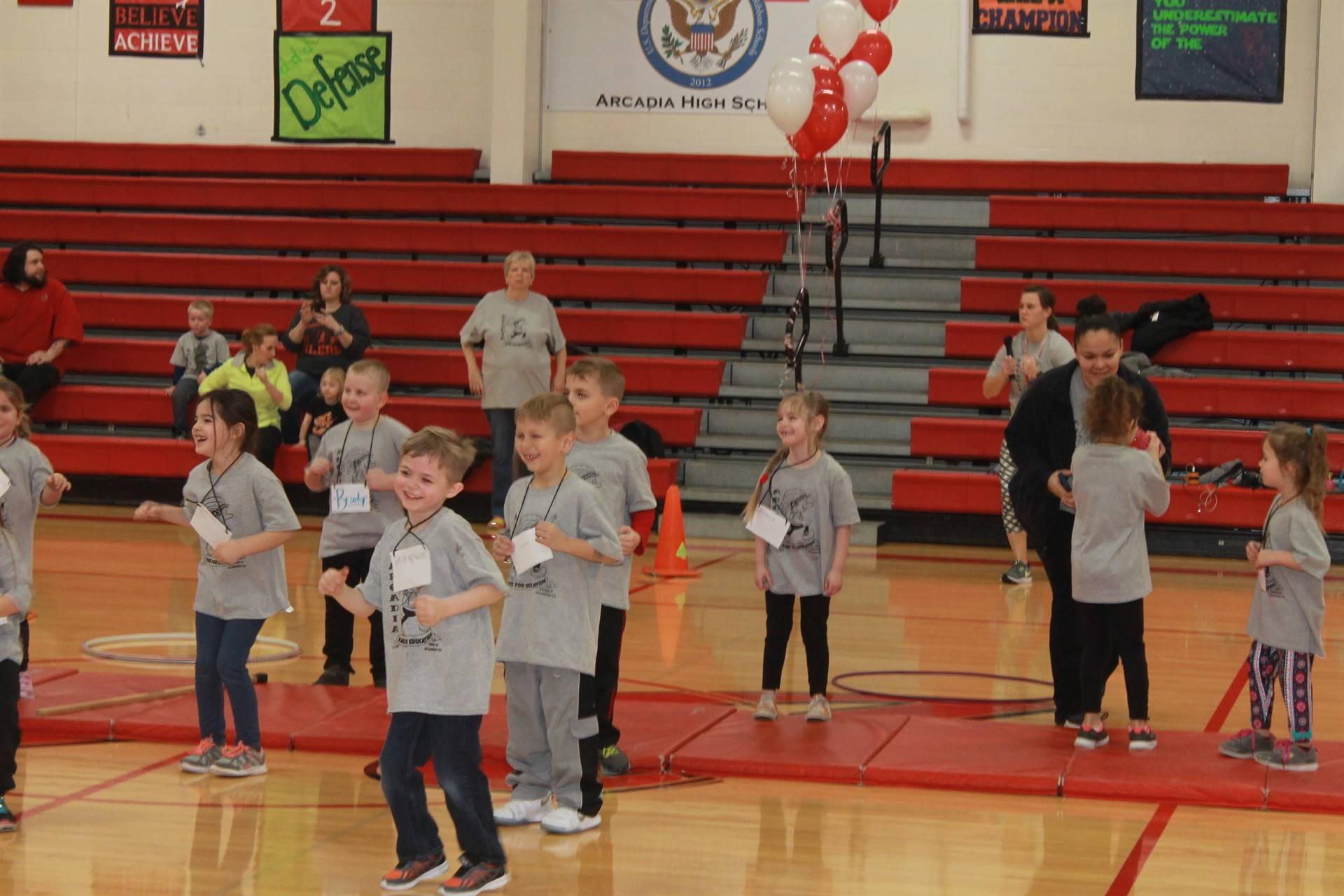 Kindergarten Dancing for RFE