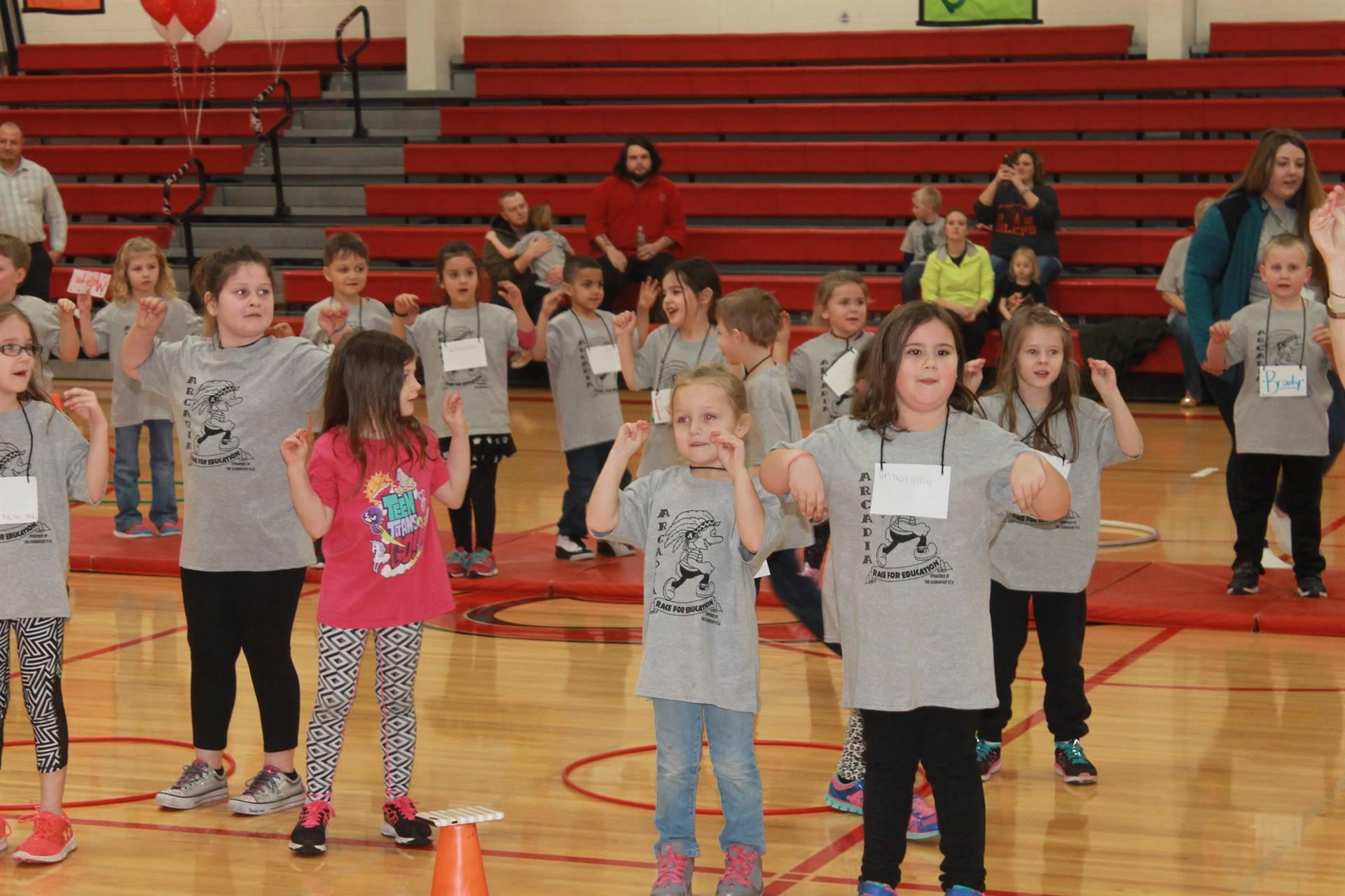 Kindergarten chicken dance RFE