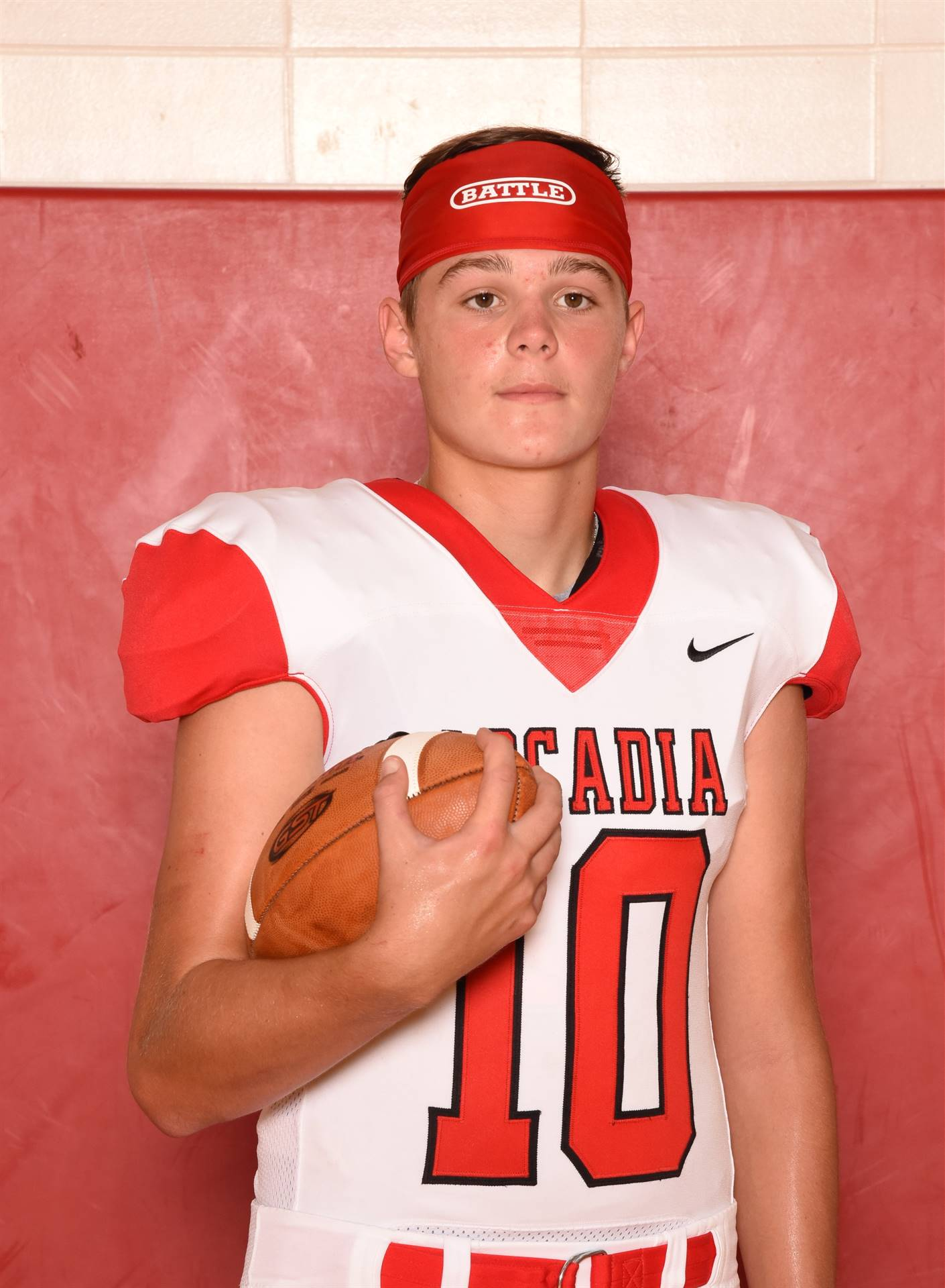 Senior Football Picture - Cole Coppus