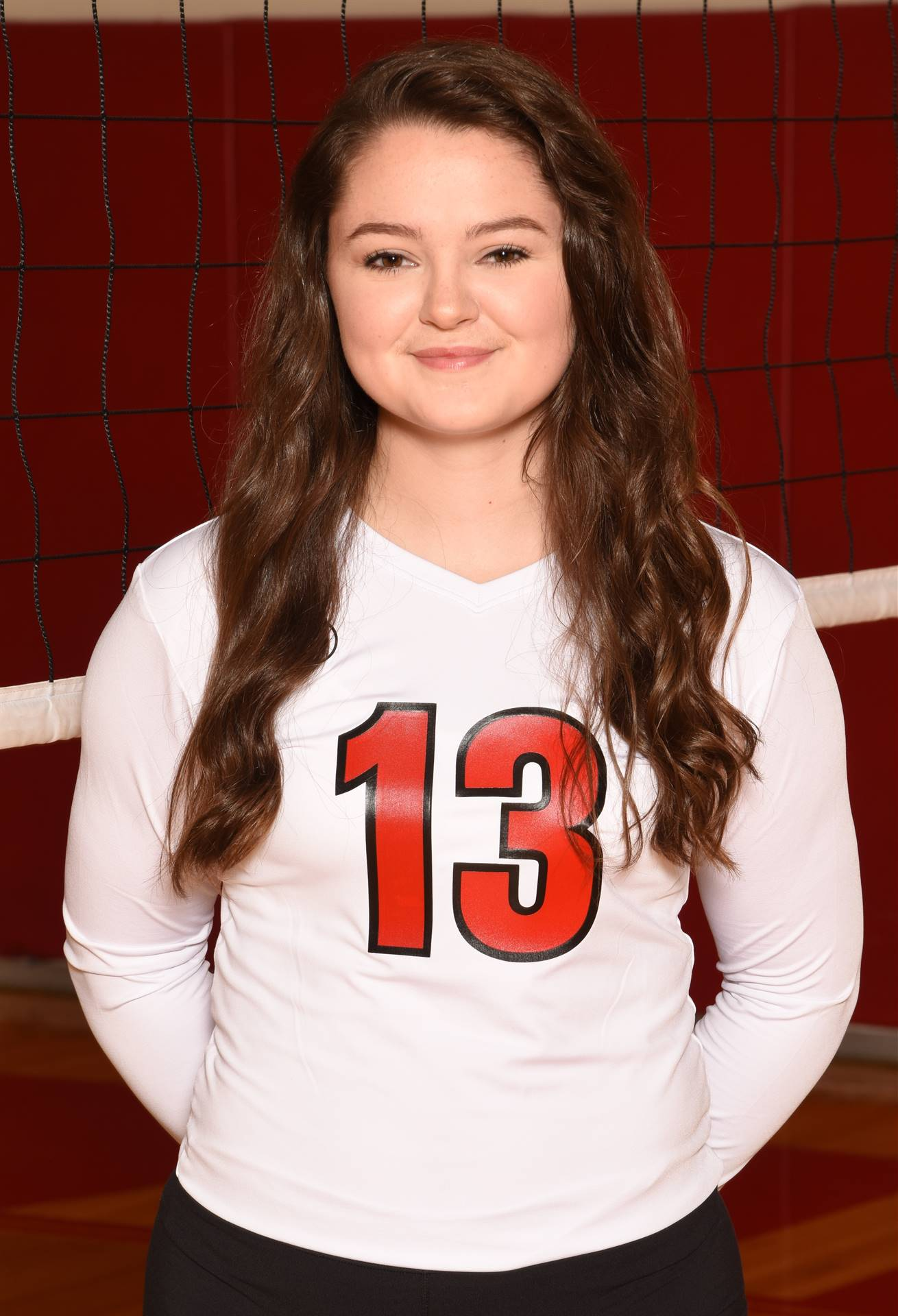 Senior Volleyball Picture - Mallory Laveglia