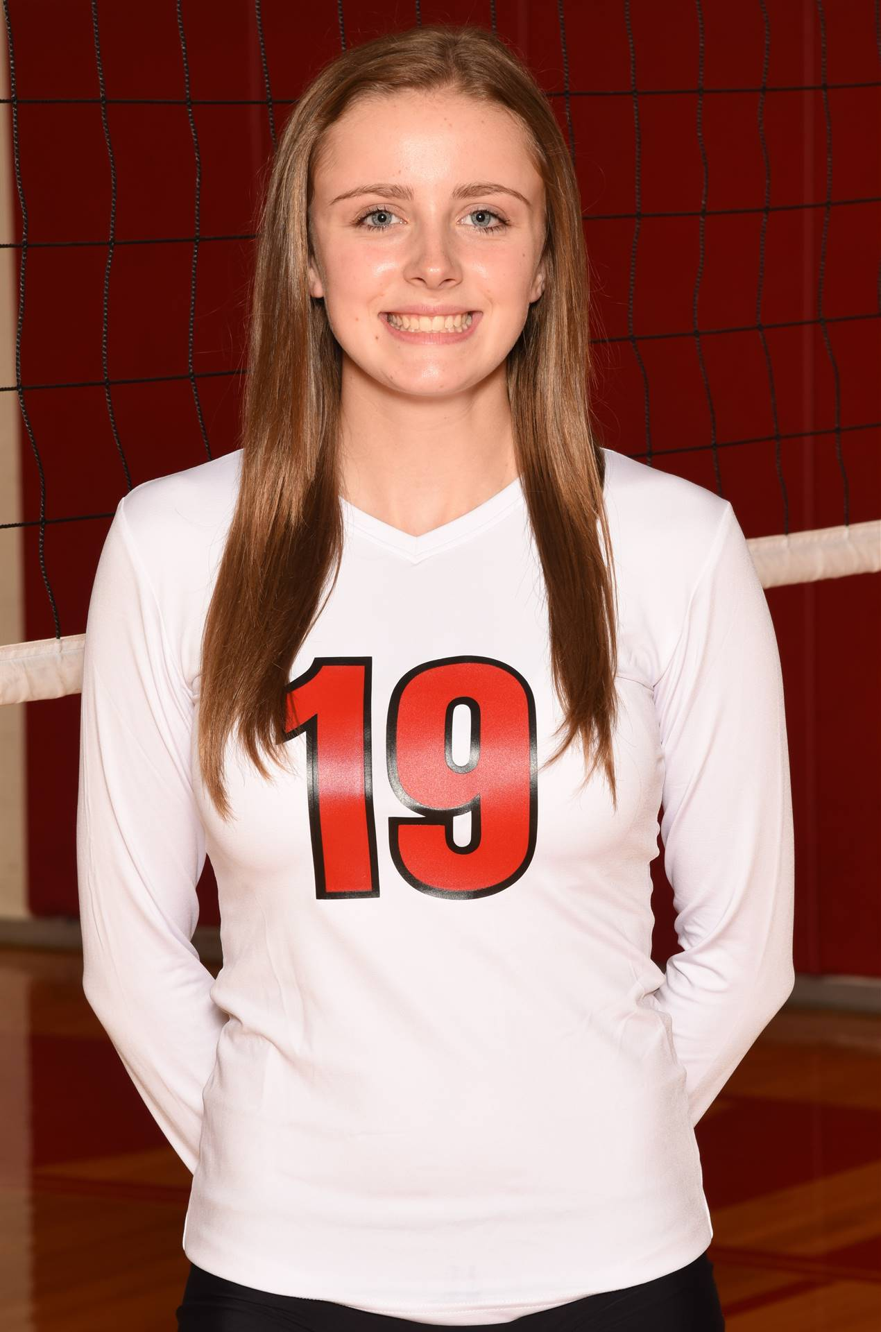 Senior Volleyball Picture - Megan Mock