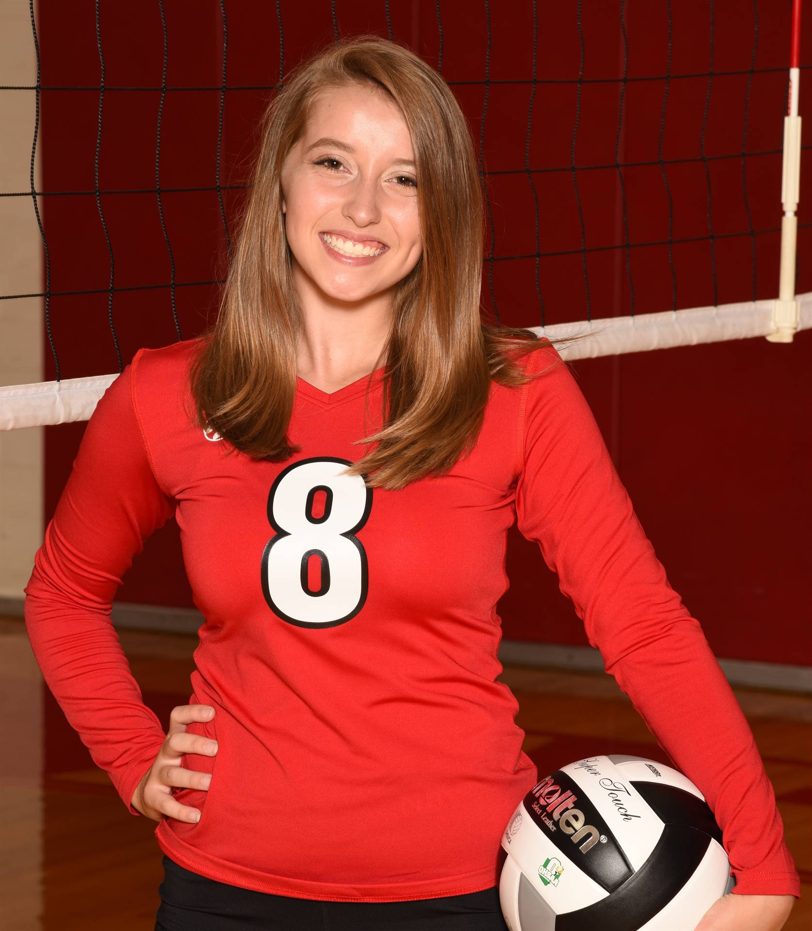 Senior Volleyball Picture - Sidney Ramsey