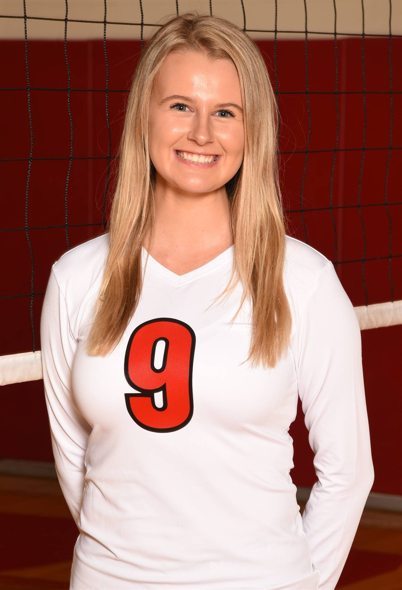 Senior Volleyball Picture - Victoria Green