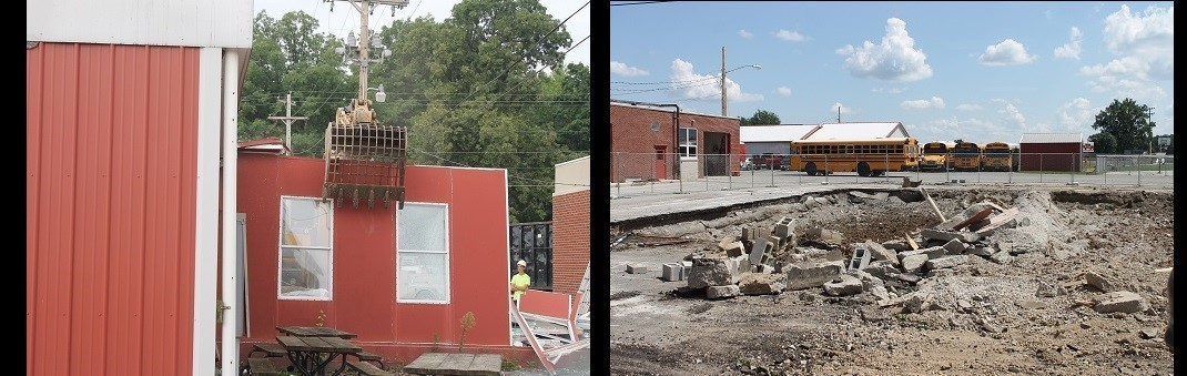 The Demolition of the Modular Classrooms is Finished