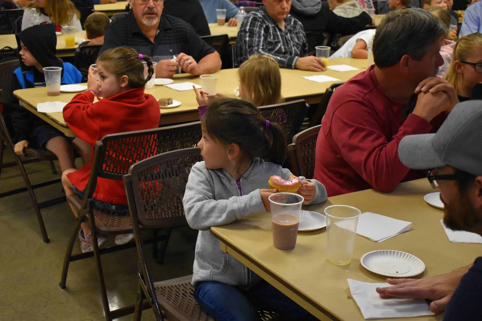 Picture from Donuts with Dad