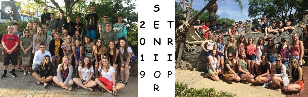 Group Pictures for 2019 Senior Trip