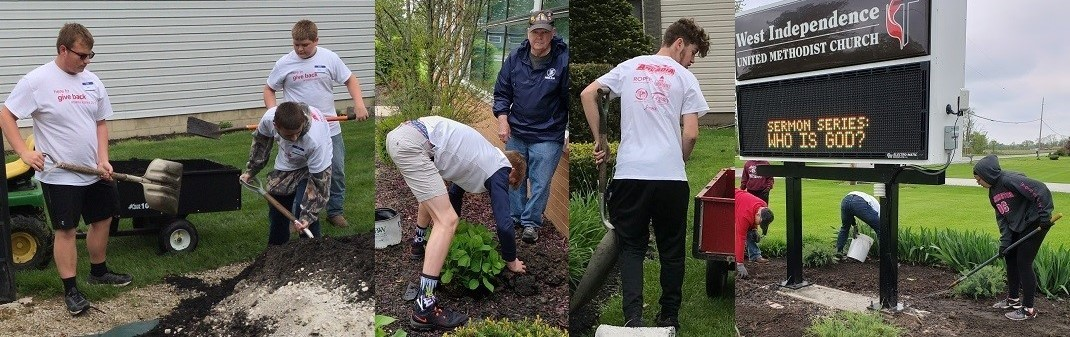 Students Giving Back to the Community during Arcadia Cares Day