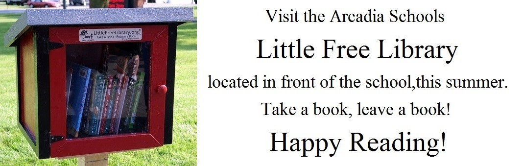 Picture of the Little Free Library. Take book, Leave a Book Read.