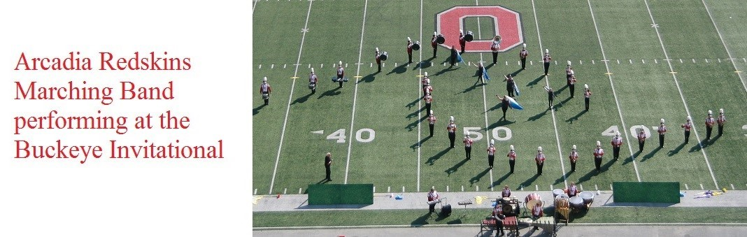 """Arcadia Marching Band performed at the Buckeye Invitational!"""