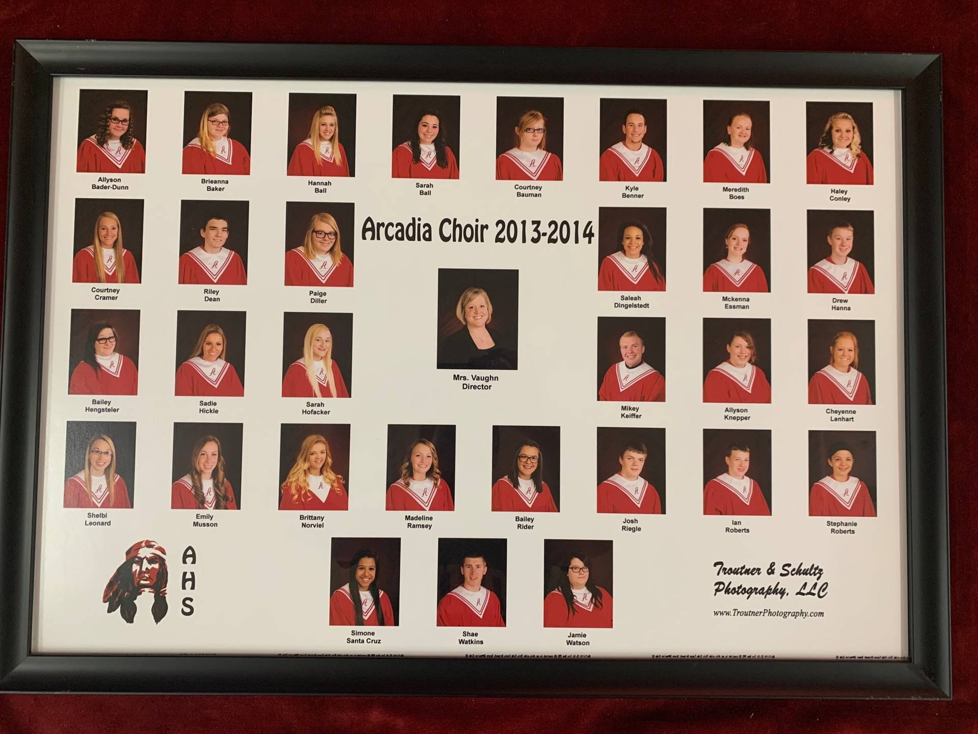 Arcadia High School Choir 2013-2014