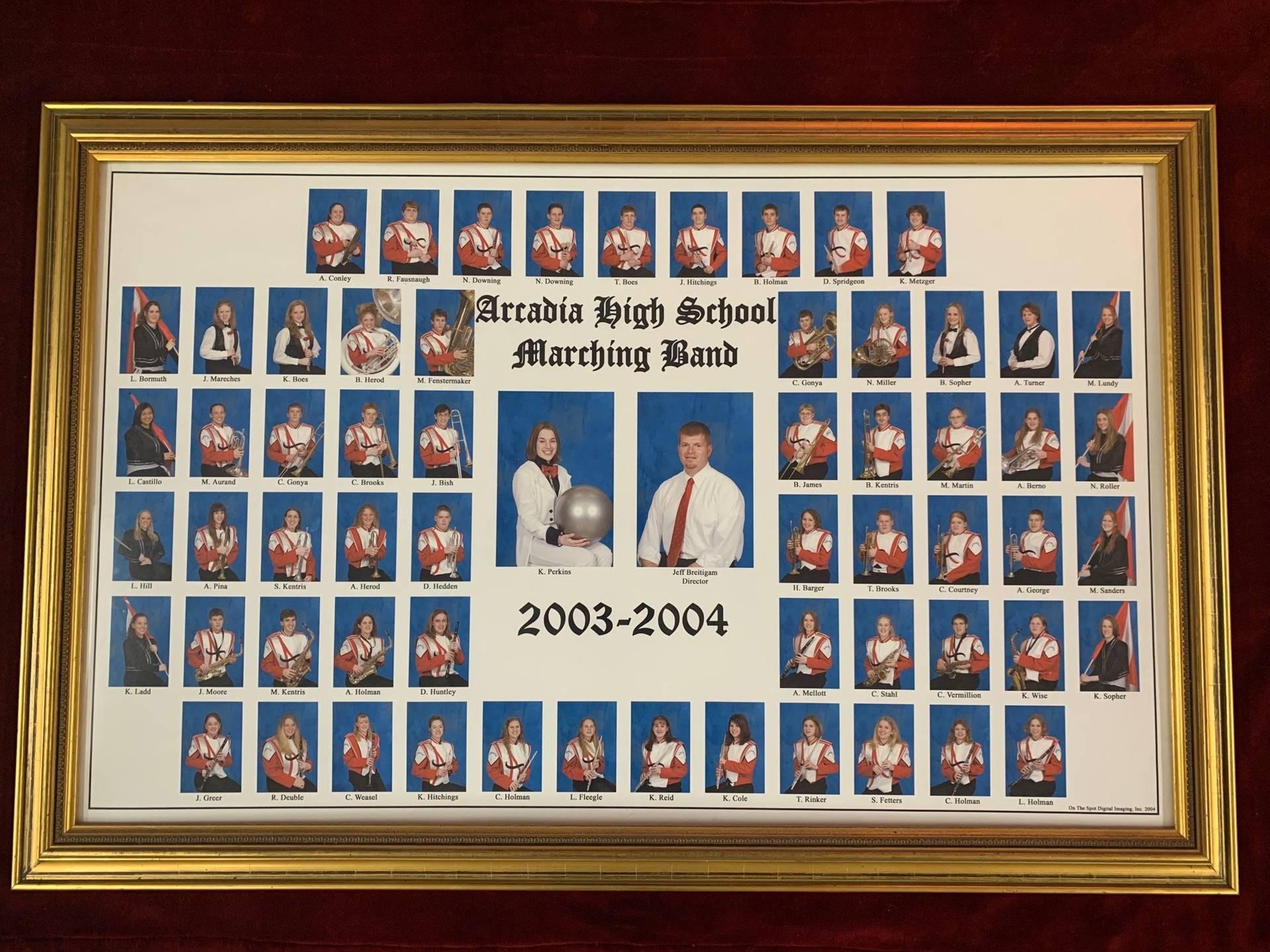 Arcadia High School Marching Band 2003-2004