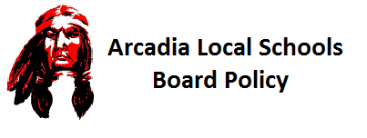 Arcadia Local Schools - Board Policy