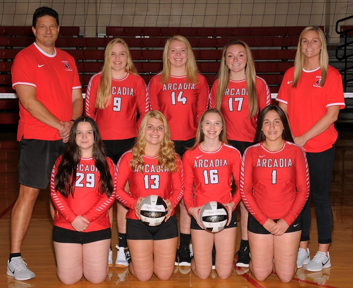 Arcadia Redskins 2019 JV Volleyball Team