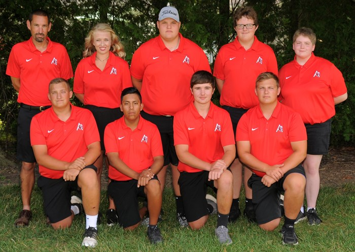 Arcadia Redskins 2019 Varsity Golf Team