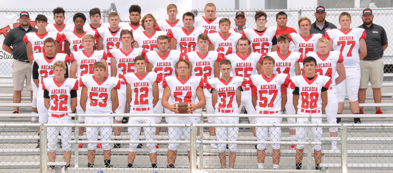 Arcadia Redskins 2019 Varsity Football Team