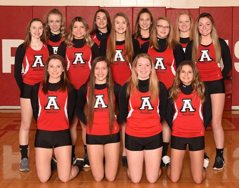 2018-19 Arcadia Redskins Varsity Girl's Track Team Photo